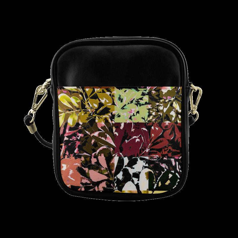 Foliage Patchwork #6 - Jera Nour Sling Bag (Model 1627)