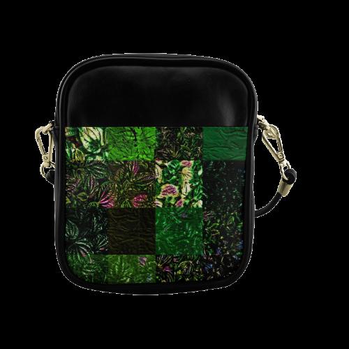 Foliage Patchwork #1 - Jera Nour Sling Bag (Model 1627)