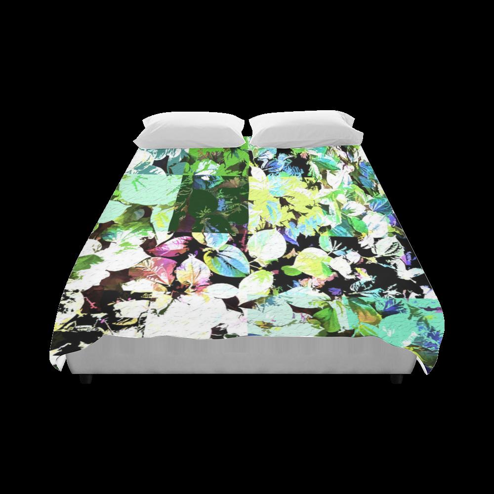 "Foliage Patchwork #2 - Jera Nour Duvet Cover 86""x70"" ( All-over-print)"
