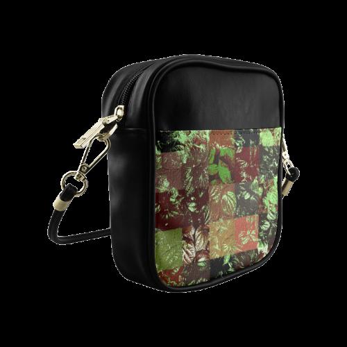 Foliage Patchwork #4 - Jera Nour Sling Bag (Model 1627)