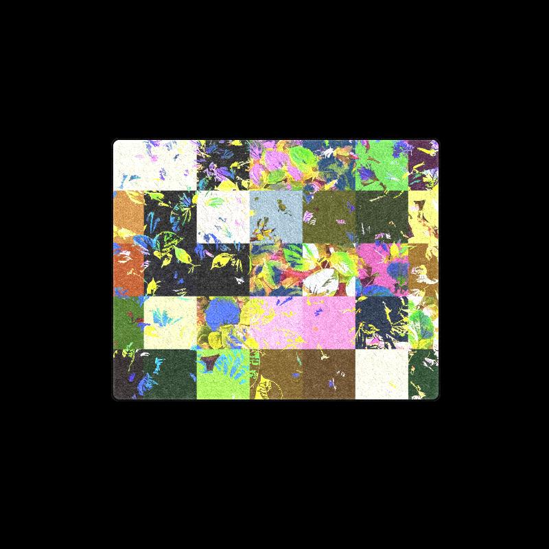 "Foliage Patchwork #3 - Jera Nour Blanket 40""x50"""