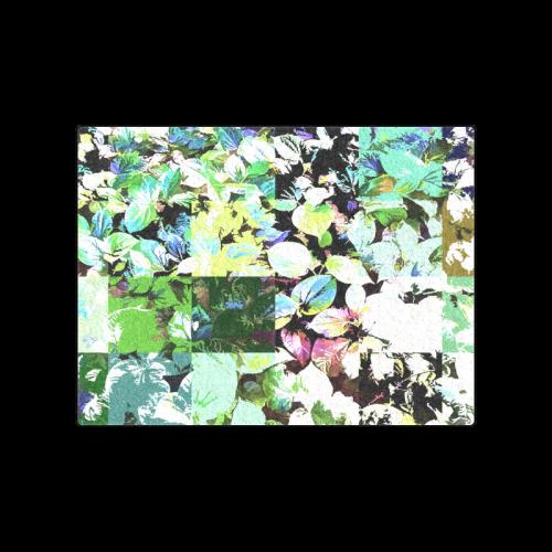 "Foliage Patchwork-2 - Jera Nour Blanket 50""x60"""