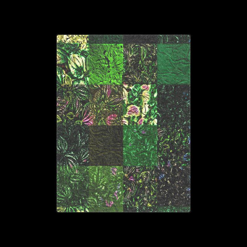 "Foliage Patchwork-1 - Jera Nour Blanket 50""x60"""