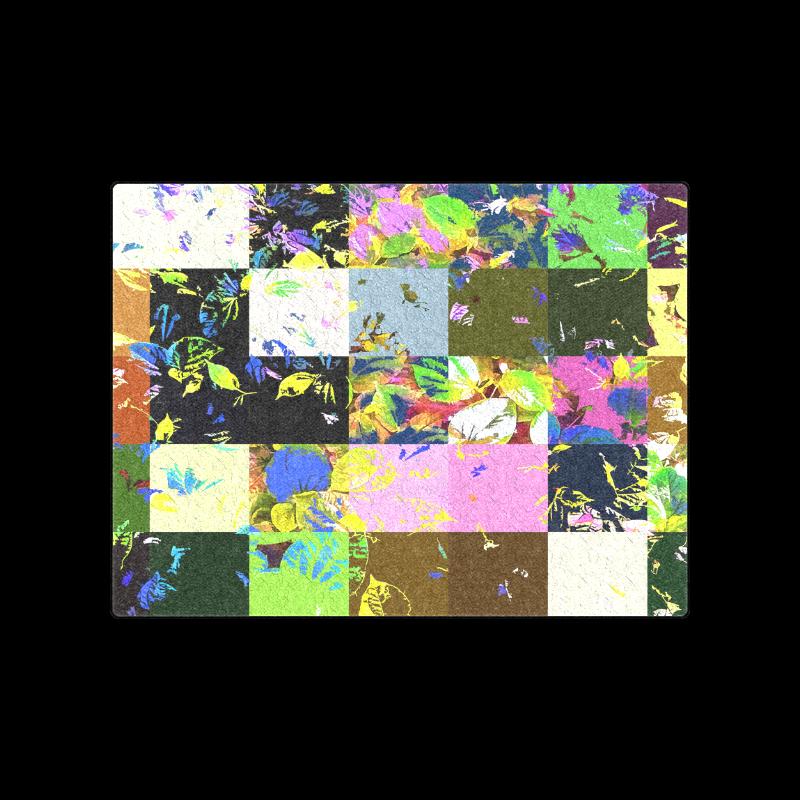 "Foliage Patchwork-3 - Jera Nour Blanket 50""x60"""