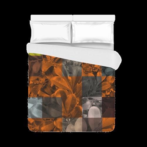 "Foliage Patchwork #9 - Jera Nour Duvet Cover 86""x70"" ( All-over-print)"