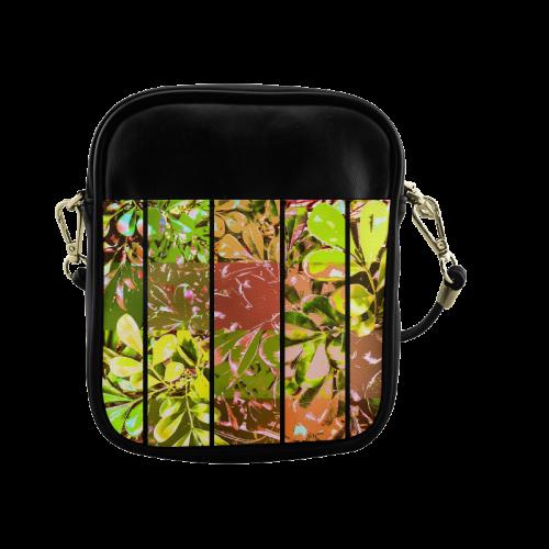 Foliage Patchwork #5 - Jera Nour Sling Bag (Model 1627)