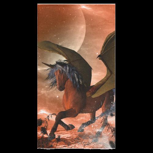 """Dark unicorn Bath Towel 30""""x56"""""""