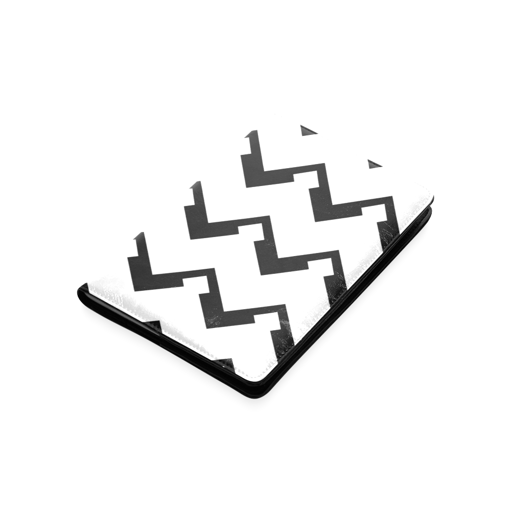 Chevron black and white  1 Custom NoteBook A5