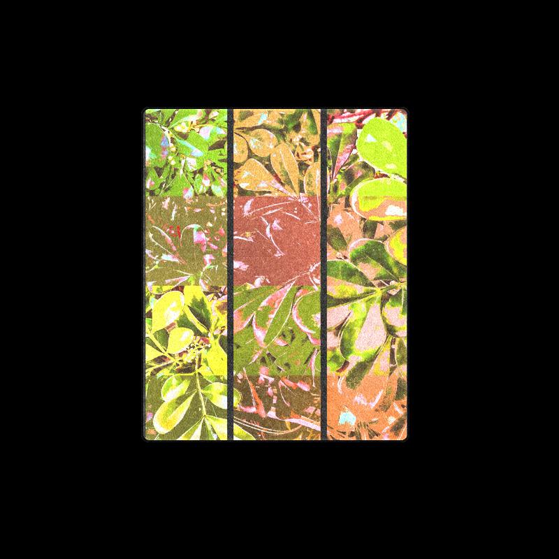 "Foliage Patchwork #5 - Jera Nour Blanket 40""x50"""