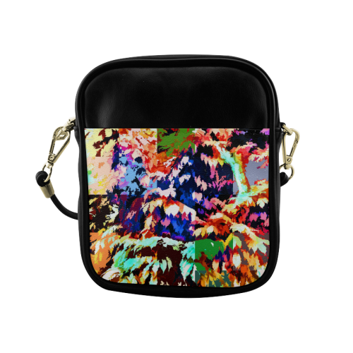 Foliage Patchwork #7 - Jera Nour Sling Bag (Model 1627)