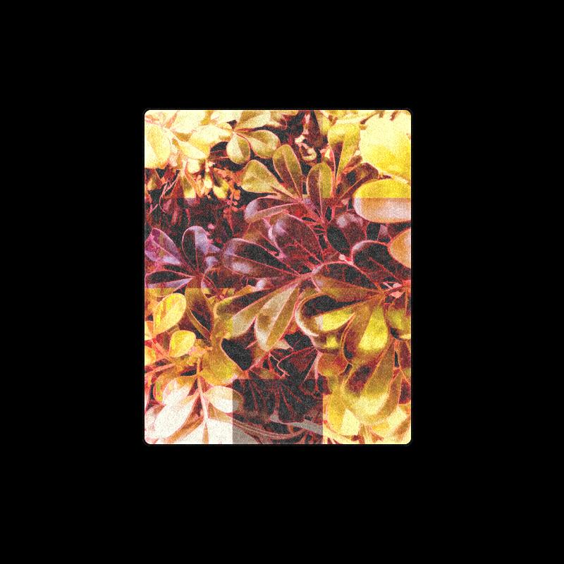"Foliage Patchwork #11 - Jera Nour Blanket 40""x50"""
