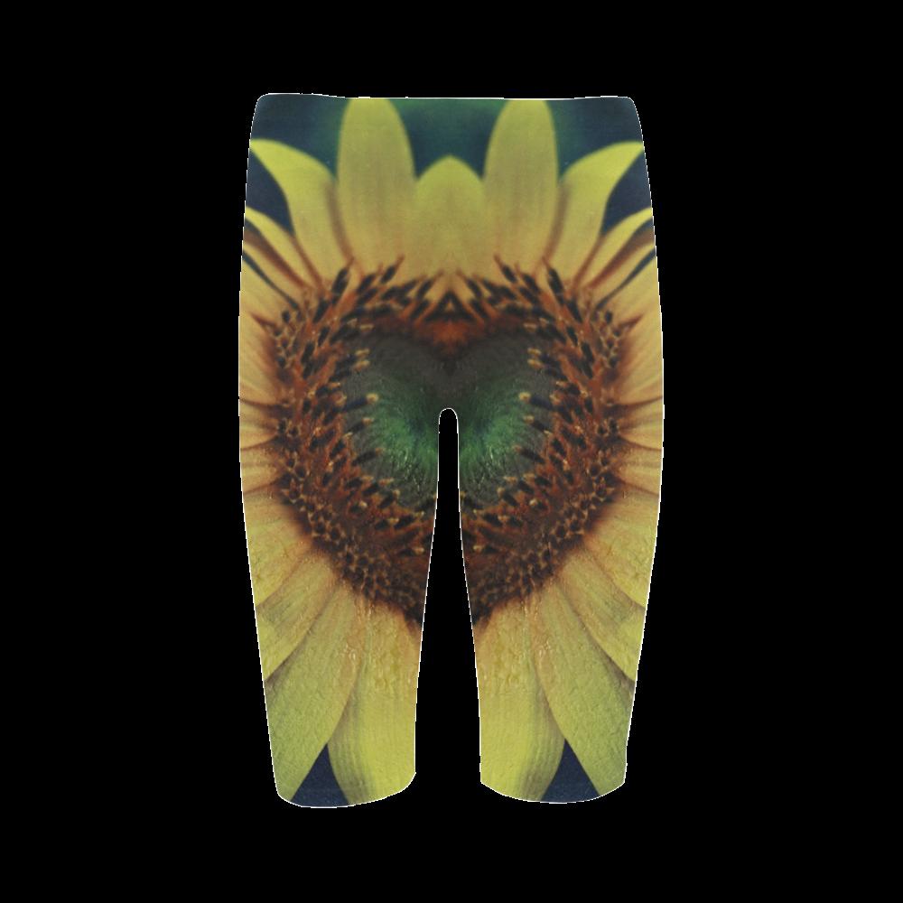 Sunflower Hestia Cropped Leggings (Model L03)