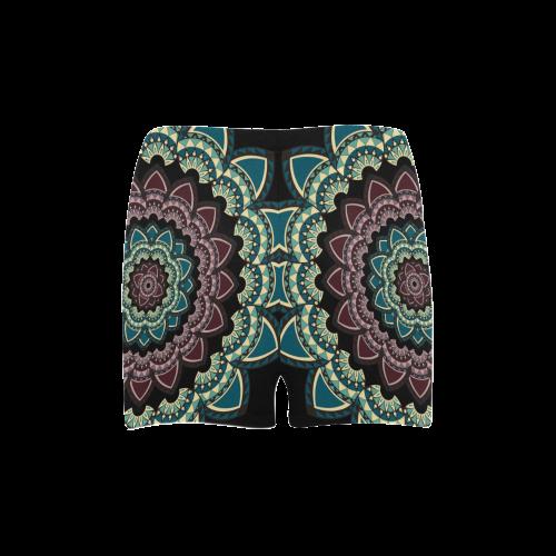 Mandala I Briseis Skinny Shorts (Model L04)
