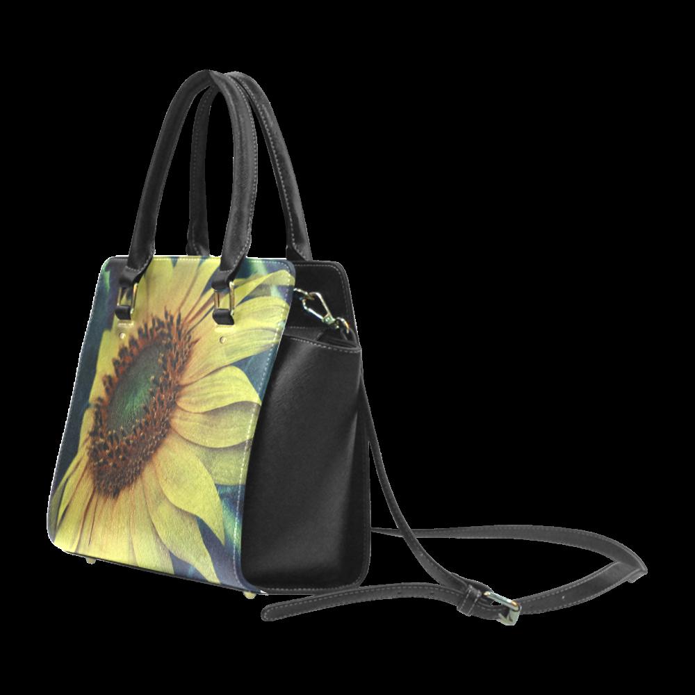 Sunflower Classic Shoulder Handbag (Model 1653)
