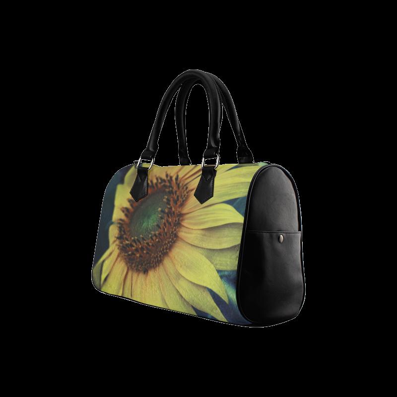 Sunflower Boston Handbag (Model 1621)
