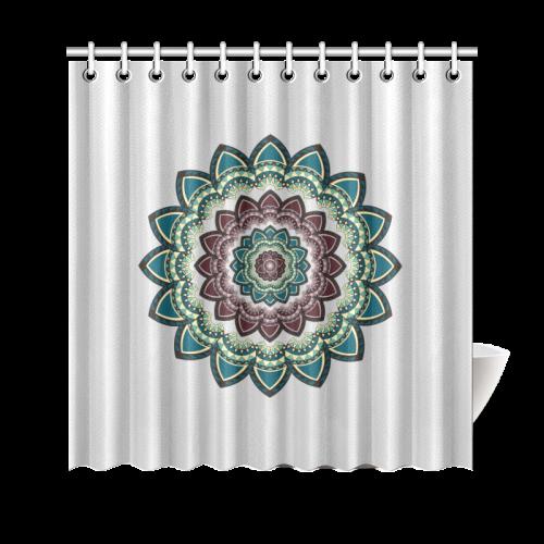 """Mandala I Shower Curtain 69""""x70"""""""