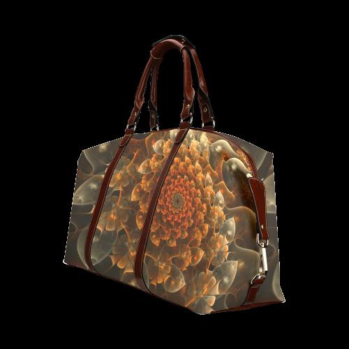 Bloom of Beauty Classic Travel Bag (Model 1643)