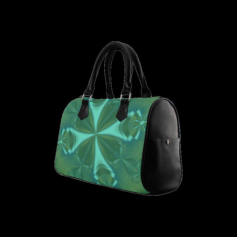 Clover Delight Boston Handbag (Model 1621)