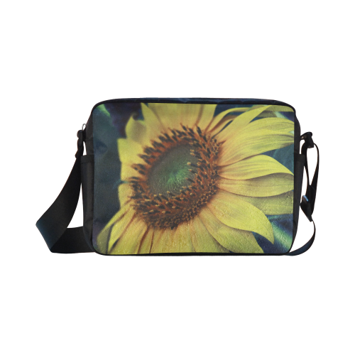 Sunflower Classic Cross-body Nylon Bags (Model 1632)
