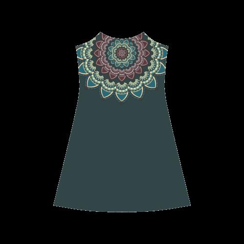 Mandala I Alcestis Slip Dress (Model D05)
