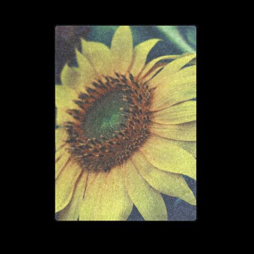 "Sunflower Blanket 58""x80"""