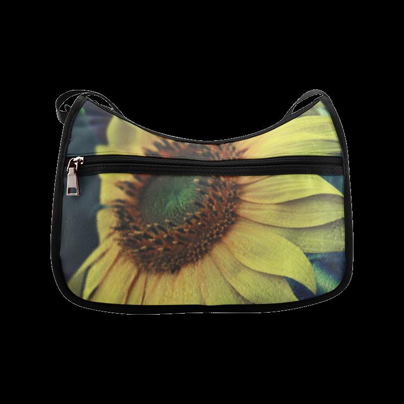 Sunflower Crossbody Bags (Model 1616)