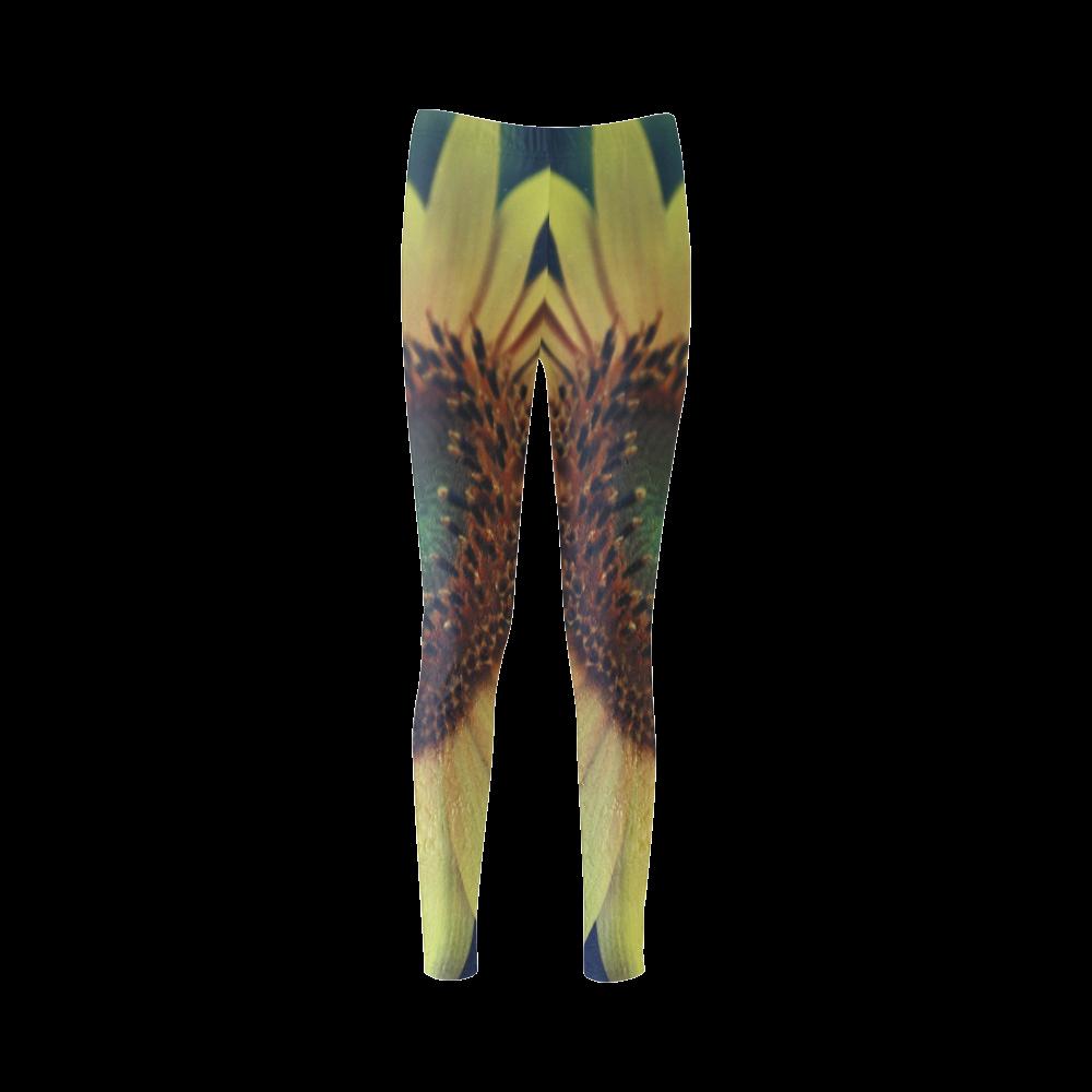 Sunflower Cassandra Women's Leggings (Model L01)