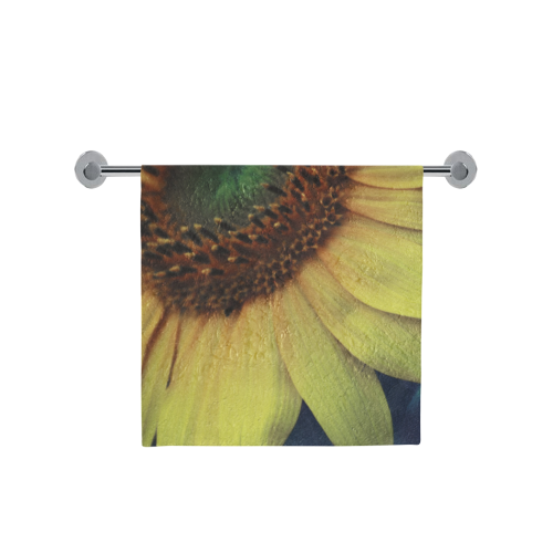 "Sunflower Bath Towel 30""x56"""
