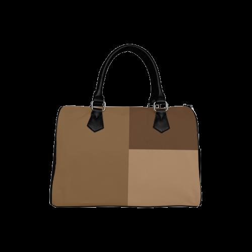 Copper Serenade Boston Handbag (Model 1621)