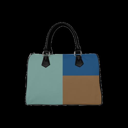 Out to Sea Boston Handbag (Model 1621)