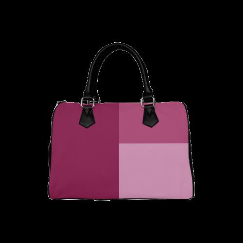 Dusty Rose Boston Handbag (Model 1621)