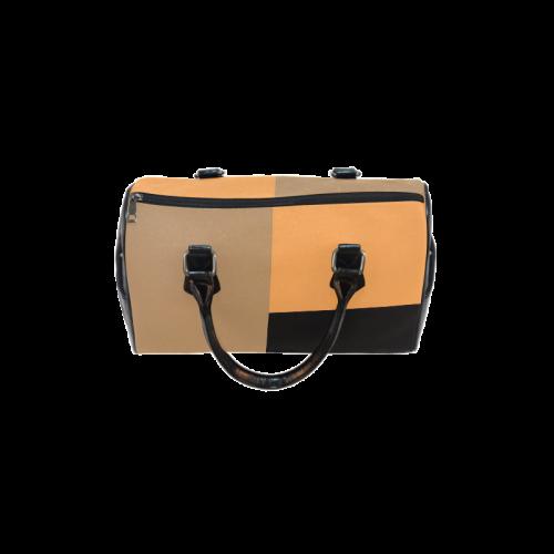 Orange Night Boston Handbag (Model 1621)