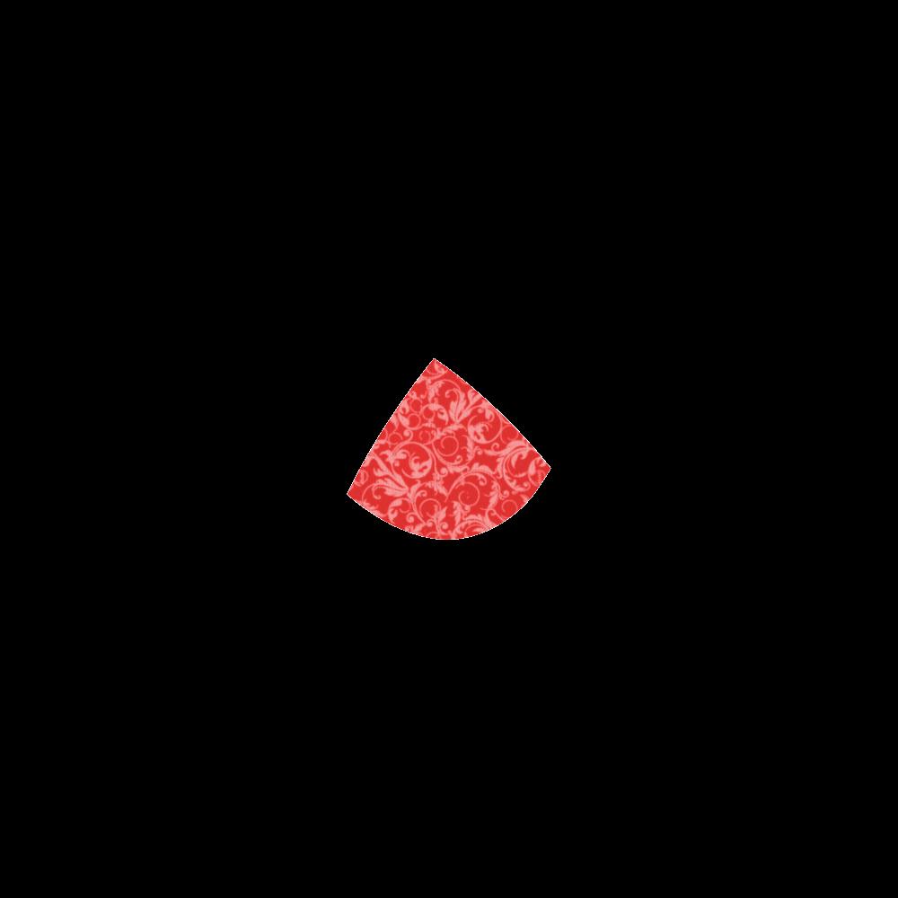 Vintage Swirls Coral Red Custom Bikini Swimsuit
