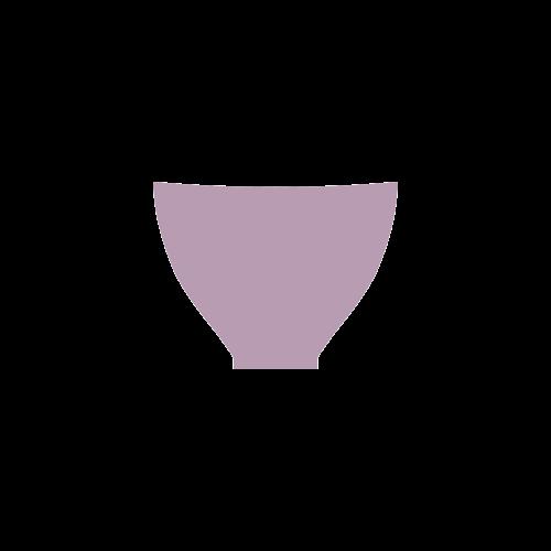 Lavender Herb Color Accent Custom Bikini Swimsuit