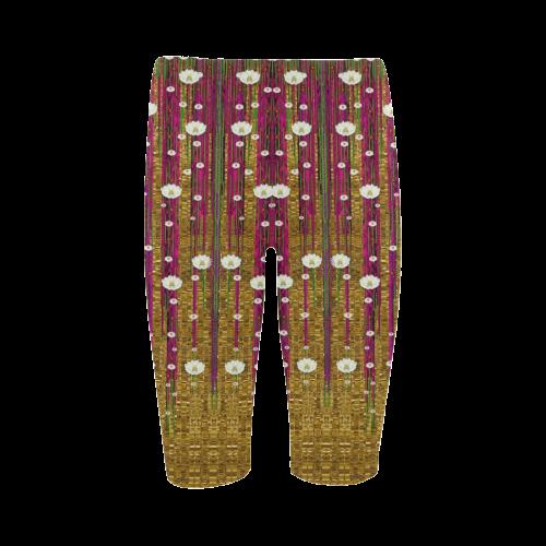 Strawberry Trees Forever Hestia Cropped Leggings (Model L03)