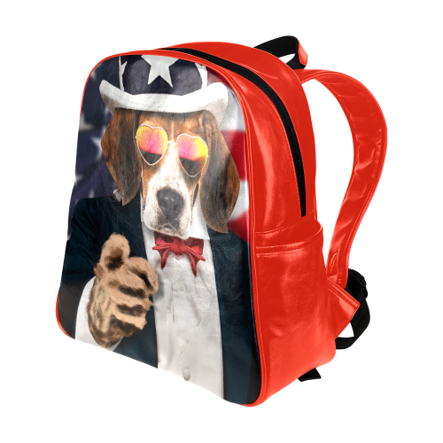 Dog Multi-Pockets Backpack (Model 1636)