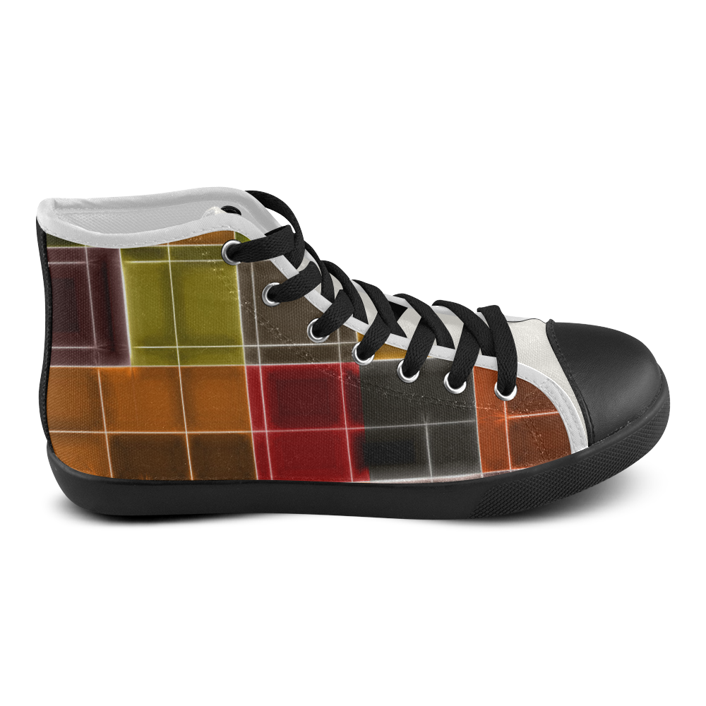 TechTile #2 - Jera Nour Men's High Top Canvas Shoes (Model 002)