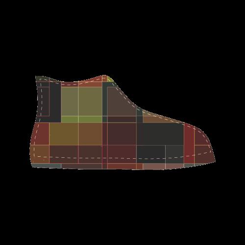 TechTile #3 - Jera Nour Men's Classic High Top Canvas Shoes (Model 017)