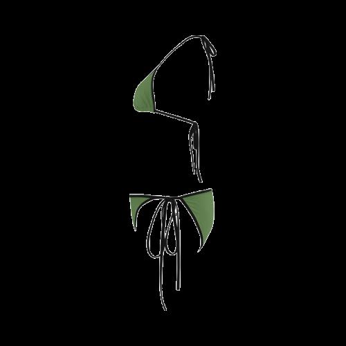 Treetop Color Accent Custom Bikini Swimsuit