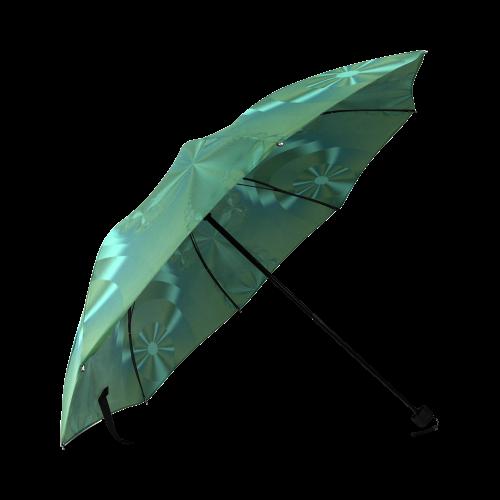 Clover Delight Foldable Umbrella (Model U01)
