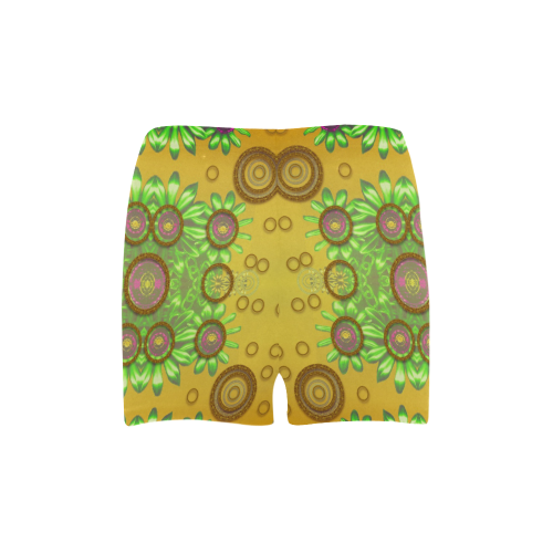 Some Steam Punk and fauna in a fancy gathering Briseis Skinny Shorts (Model L04)