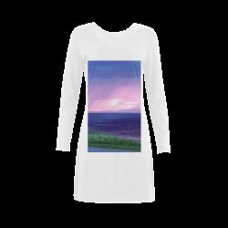 Purple Rain Demeter Long Sleeve Nightdress (Model D03)