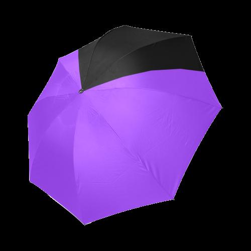 Retro in Purple Neon Foldable Umbrella (Model U01)