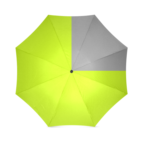 Retro in Green Neon Foldable Umbrella (Model U01)