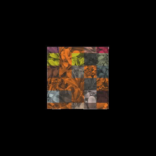 """Foliage Patchwork #9 - Jera Nour Square Towel 13""""x13"""""""