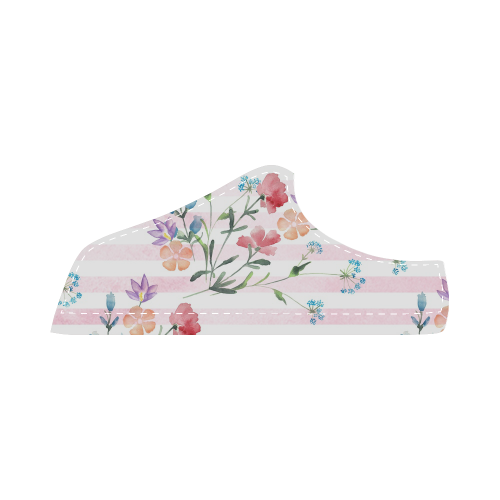 Delicate Wildflowers Women's Chukka Canvas Shoes (Model 003)