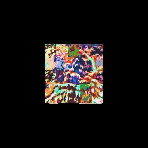 """Foliage Patchwork #7 - Jera Nour Square Towel 13""""x13"""""""