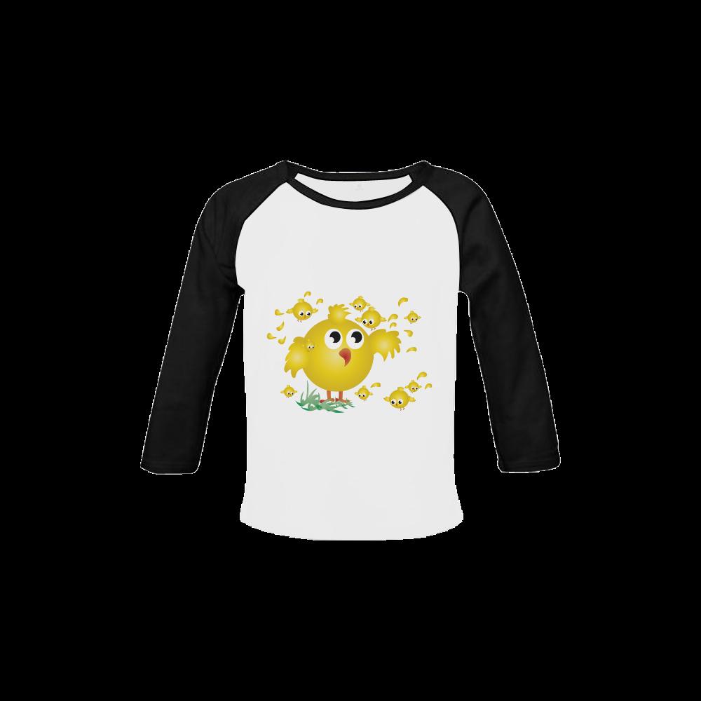 Chicks Baby Organic Long Sleeve Shirt (Model T31)