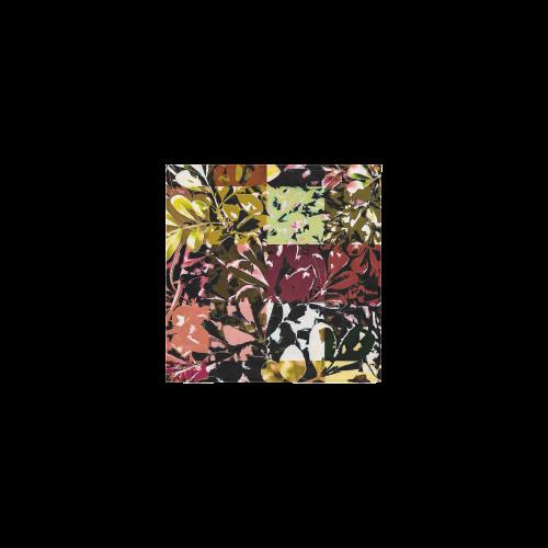 """Foliage Patchwork #6 - Jera Nour Square Towel 13""""x13"""""""