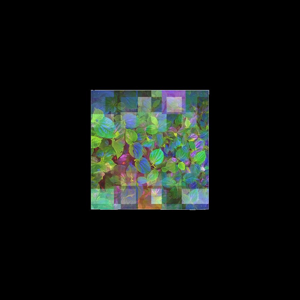 """Foliage Patchwork #10 - Jera Nour Square Towel 13""""x13"""""""